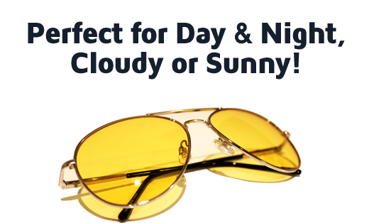 Pefect for Day & Night, Cloudy or Sunny!